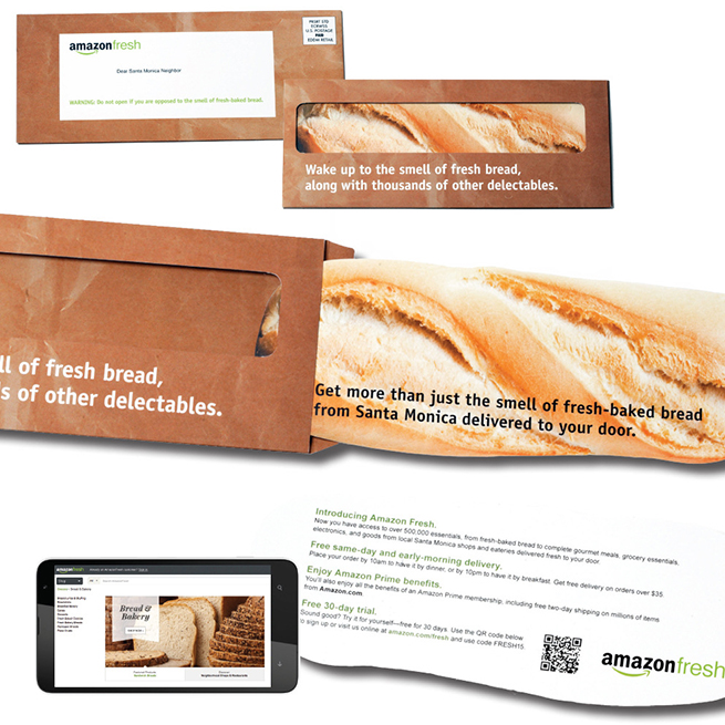 A Sample of Amazon Fresh Print Packaging